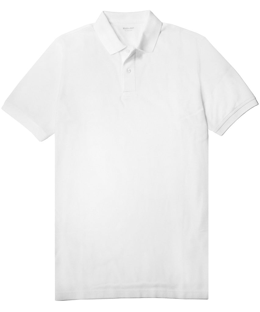 White Piqué Polo>VIEW FULL SIZE IMAGE</a>                                                                                                         <div id=