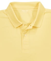 Yellow Piqué Polo