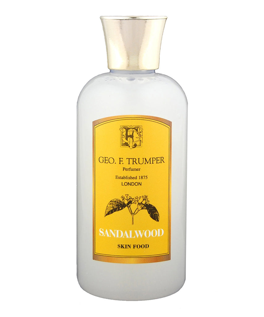Sandalwood Skin food 200ml by Geo. F. Trumper