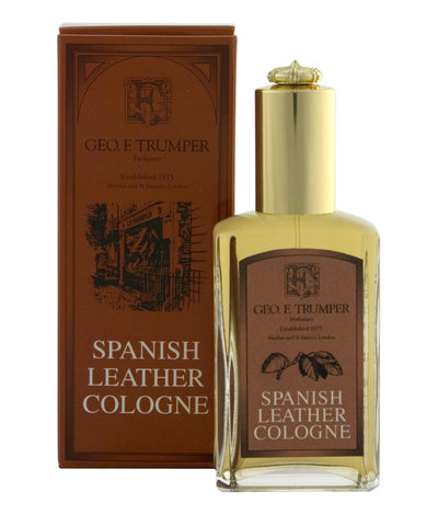 Spanish Leather Atomizer Cologne By Geo. F. Trumper
