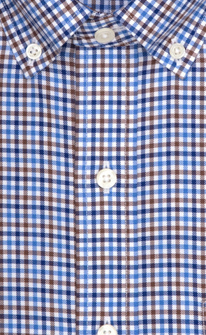 Wilkes & Riley Multi Color Check Button Down Sport Shirt Alt