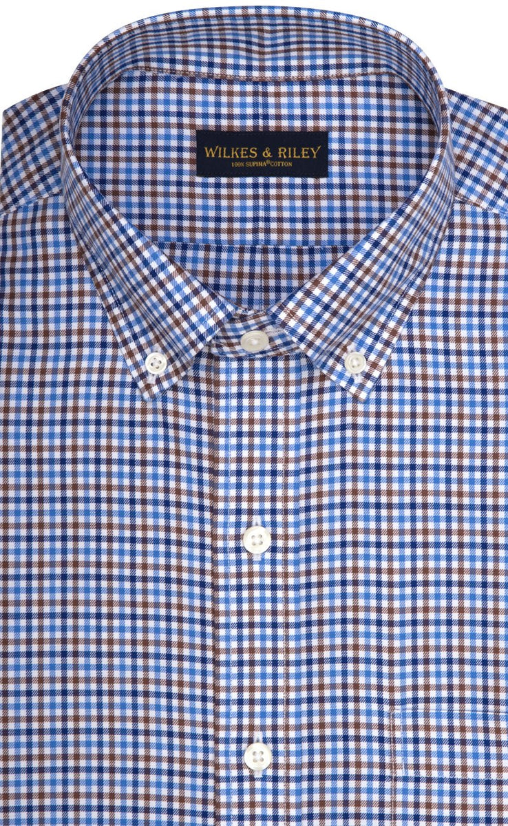 Wilkes & Riley Multi Color Check Button Down