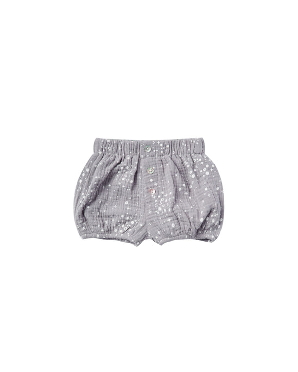 Rylee and Cru Moondust Button Short in Periwinkle