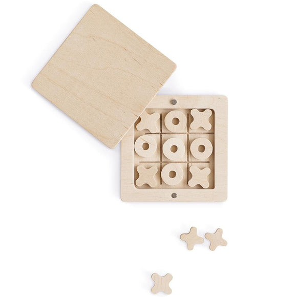 Babai Wooden Tic-Tac-Toe in Magnetic Box - Flying Ryno