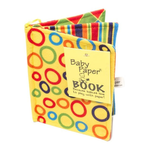 Baby Paper Book - Flying Ryno