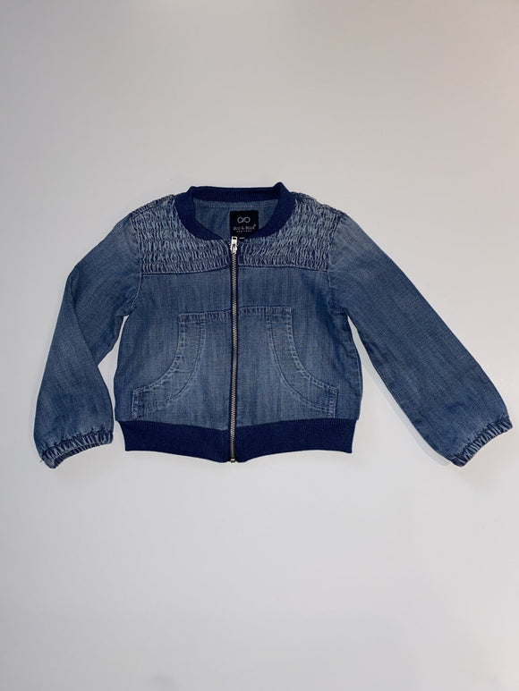 Blu & Blue Cameron Denim Jacket - Flying Ryno