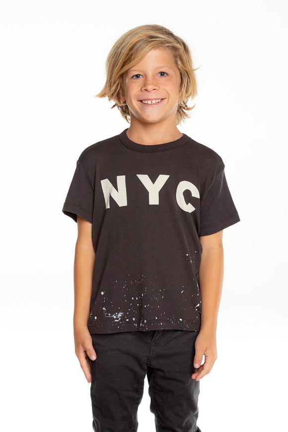 Chaser NYC Gauzy Cotton Vintage Black SS Tee - Flying Ryno