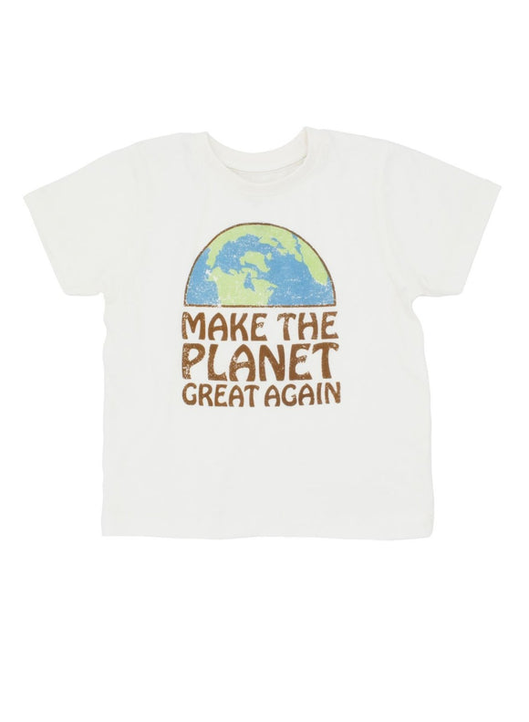 Feather 4 Arrow Make The Planet Great Again LS Tee - Flying Ryno
