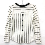 For All Seasons Long Sleeve Striped Crewneck - Flying Ryno