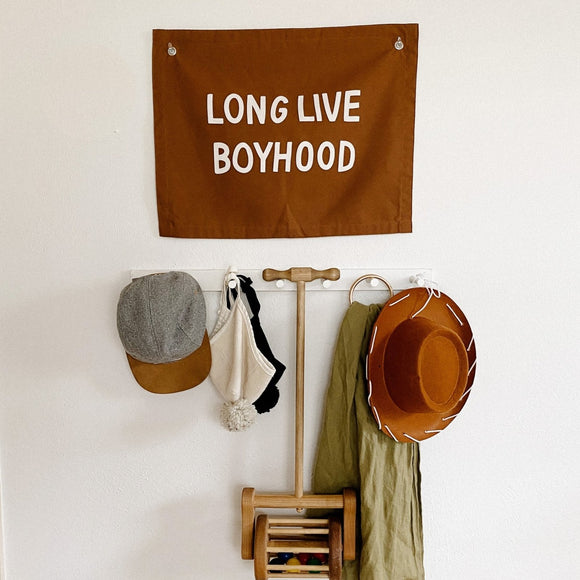 Imani Collective Long Live Boyhood Banner - Flying Ryno
