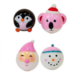 Iscream Holiday Friends Jelly Stress Ball - Flying Ryno