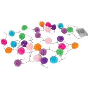 iScream Pom Pom String Lights - Flying Ryno