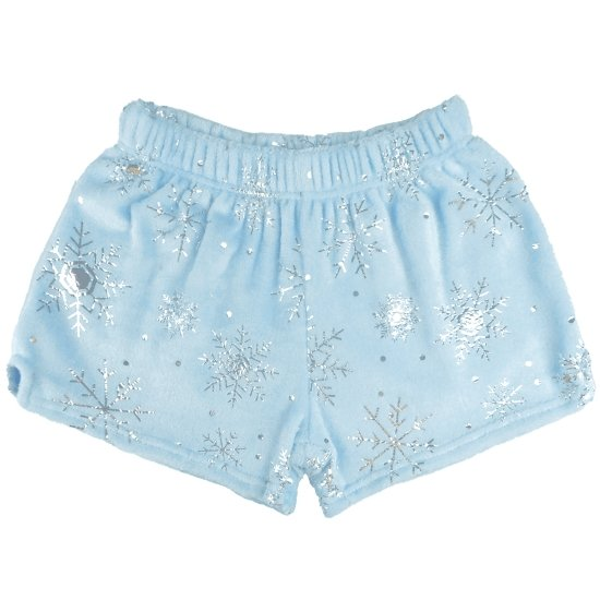 Iscream Snowflake Plush Shorts - Flying Ryno