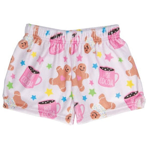 Iscream Sweet Holiday Plush Shorts - Flying Ryno