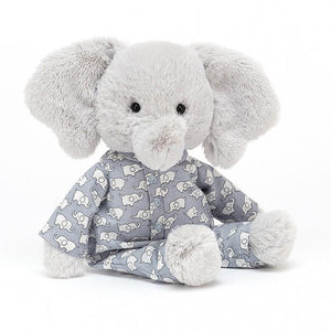 Jellycat Bedtime Elephant Small - Flying Ryno