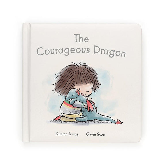 Jellycat The Courageous Dragon Book - Flying Ryno