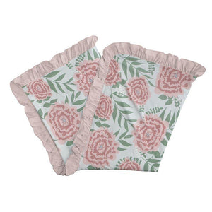Kickee Pants Ruffle Toddler Blanket Fresh Air Florist - Flying Ryno
