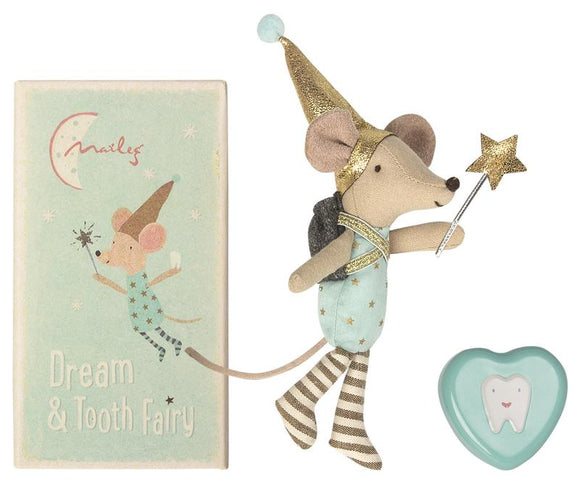 Maileg Tooth Fairy Mouse in Box Big Brother - Flying Ryno