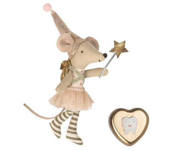 Maileg Tooth Fairy Mouse in Box Big Sister - Flying Ryno