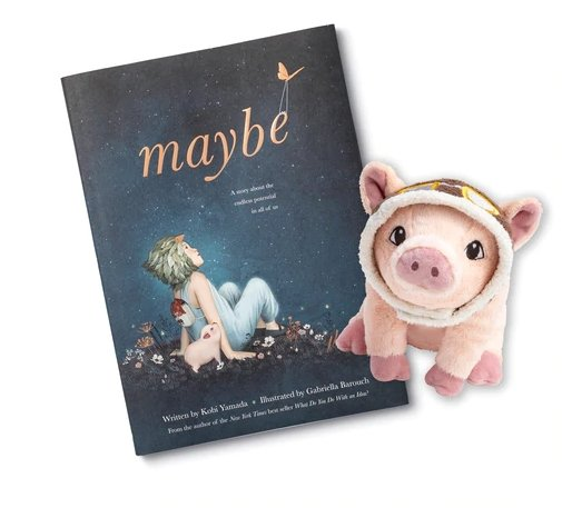 Maybe Plush Pig Compendium - Flying Ryno