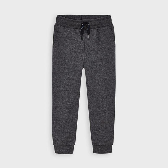 Mayoral Basic Plush Pants in Graphite - Flying Ryno