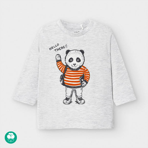 Mayoral Long Sleeved Panda T- Shirt - Flying Ryno