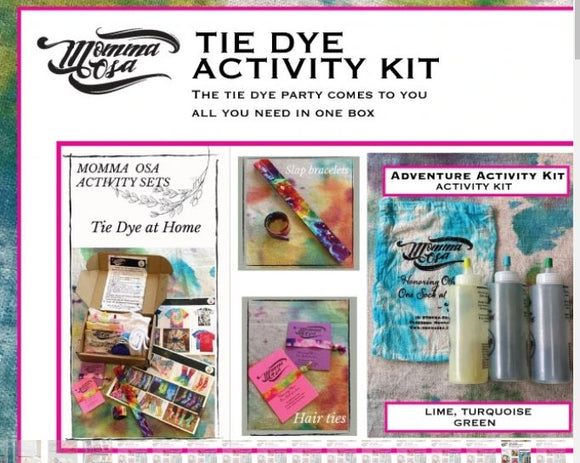 Momma Osa Tie Dye Activity Kit (Adventure) - Flying Ryno