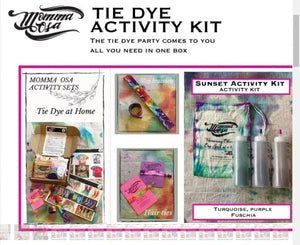 Momma Osa Tie Dye Activity kit (Sunset) - Flying Ryno