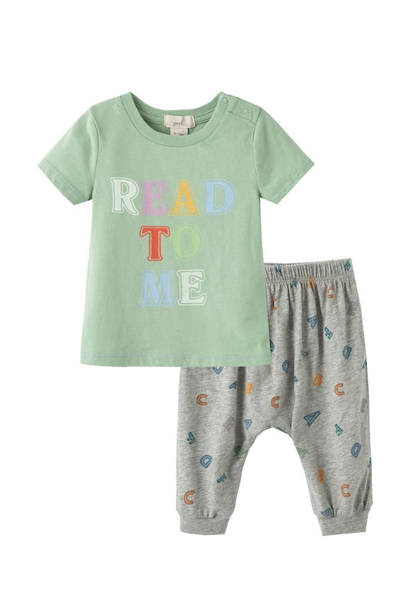 Peek Isadore Read to Me Pant Set - Flying Ryno