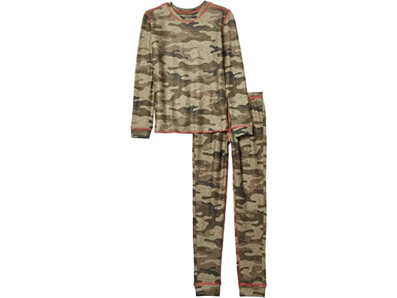PJ Salvage Two-Piece Jammies In Command Camo - Flying Ryno