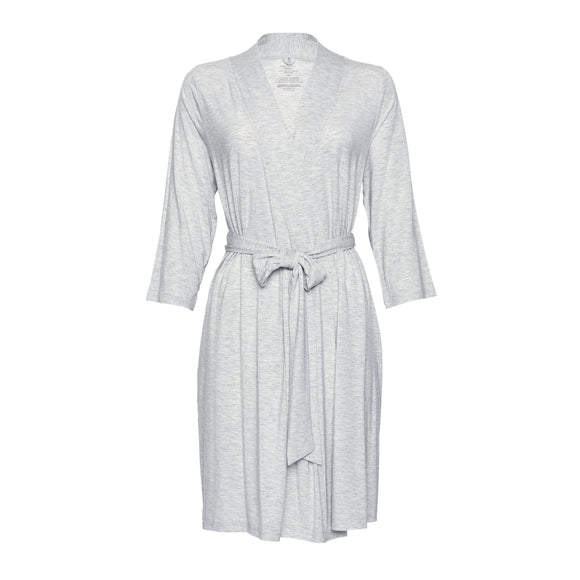 Posh Peanut Athletic Heather Mommy Robe - Flying Ryno
