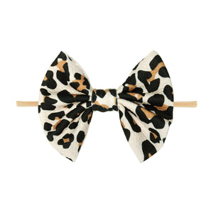 Posh Peanut Lana Leopard Lulu Nylon Headband - Flying Ryno