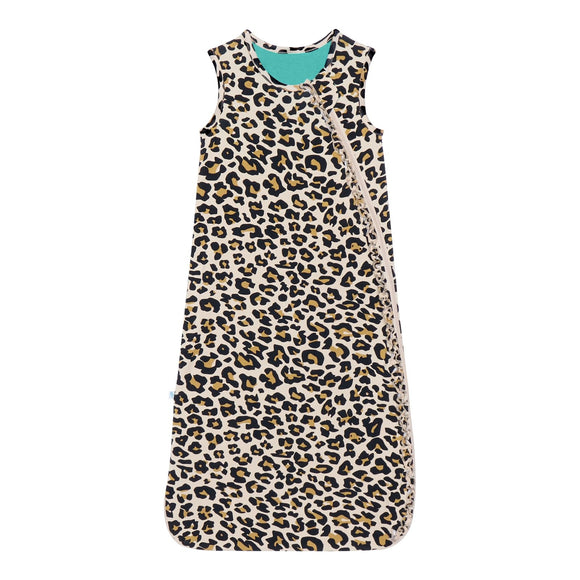 Posh Peanut Lana Leopard Sleeveless Ruffle Sleep Bag 1 Tog - Flying Ryno