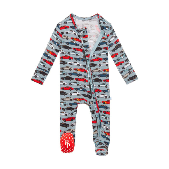Posh Peanut Miles Footie Zippered One Piece - Flying Ryno