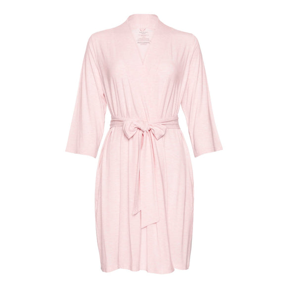 Posh Peanut Pink Heather Mommy Robe - Flying Ryno