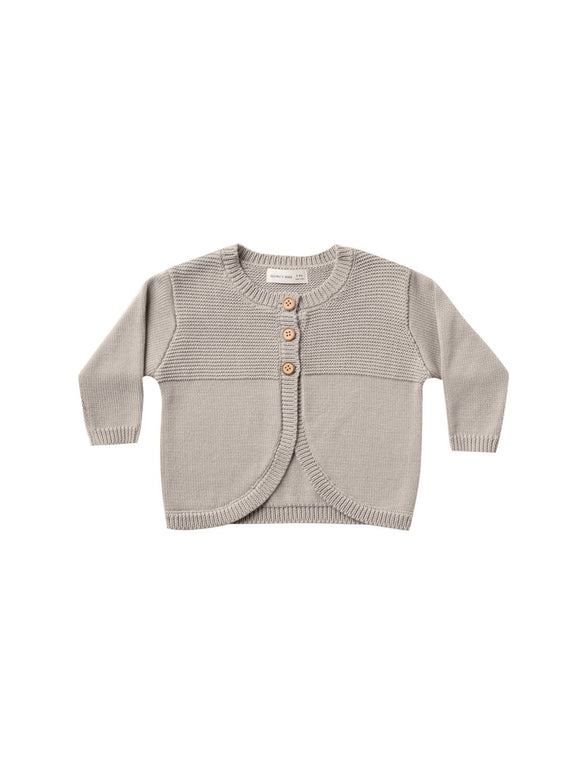 Quincy Mae Bailey Knit Sweater in Fog - Flying Ryno