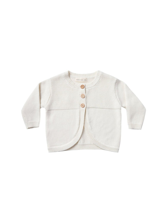 Quincy Mae Bailey Knit Sweater in Ivory - Flying Ryno