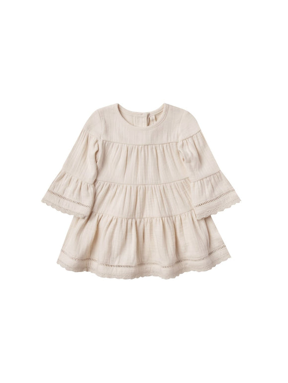 Quincy Mae Belle Dress in Pebble - Flying Ryno