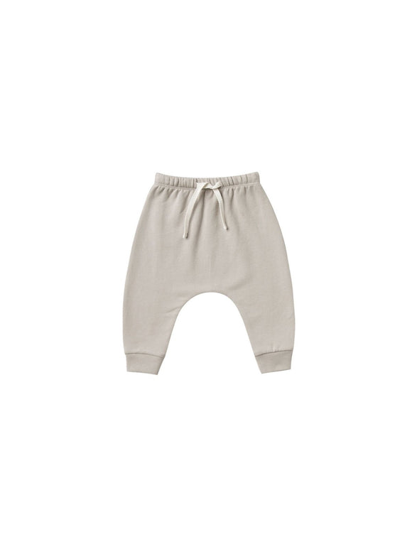 Quincy Mae Fleece Pants in Fog - Flying Ryno