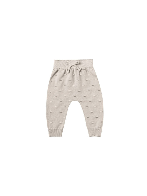 Quincy Mae Knit Pant in Fog - Flying Ryno