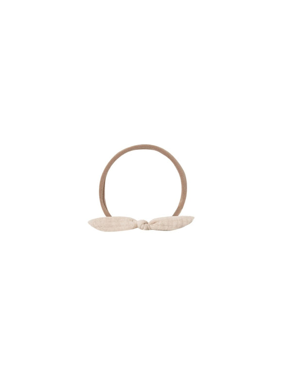 Quincy Mae Little Knot Headband in Pebble - Flying Ryno