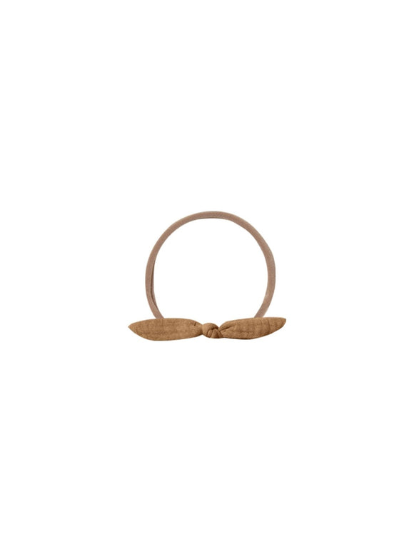 Quincy Mae Little Knot Headband in Walnut - Flying Ryno