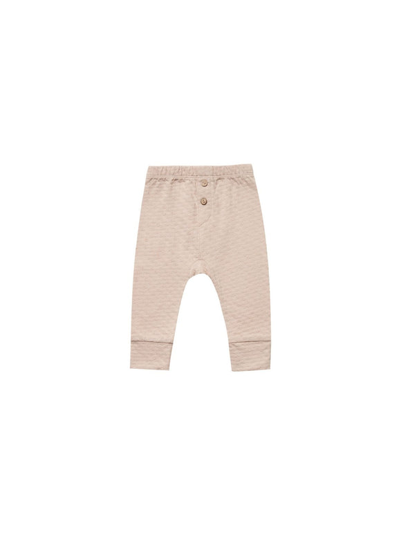 Quincy Mae Pointelle Pajama Pant in Petal - Flying Ryno