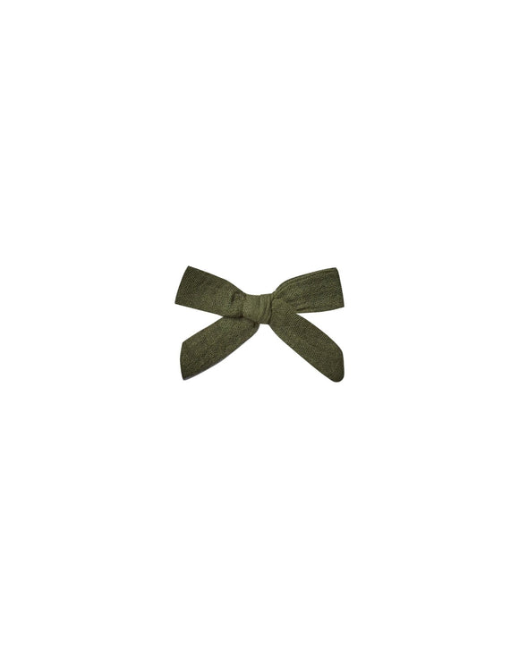 Rylee and Cru Bow Clip Set in Forest - Flying Ryno