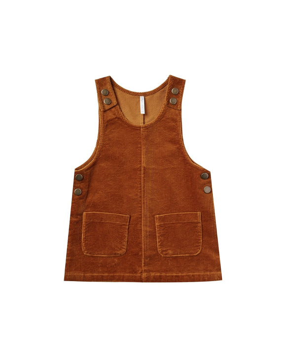 Rylee and Cru Corduroy Jumper Cinnamon - Flying Ryno