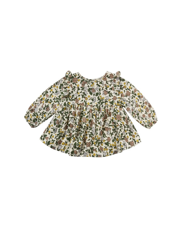 Rylee and Cru Enchanted Garden Piper Blouse in Ivory - Flying Ryno
