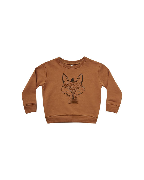 Rylee and Cru Fox Sweatshirt Cinnamon - Flying Ryno
