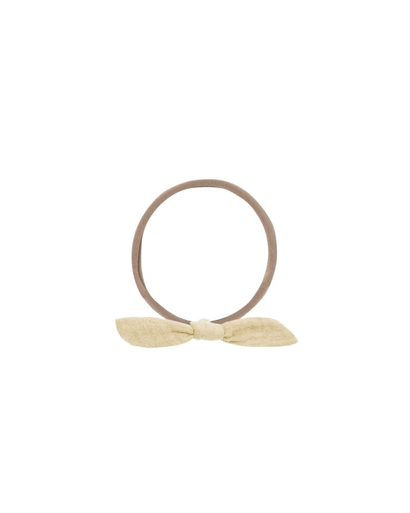 Rylee and Cru Little Knot Headband Butter - Flying Ryno