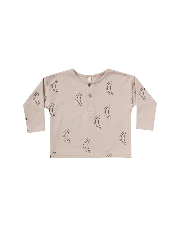 Rylee and Cru Moons Henley in Oat - Flying Ryno