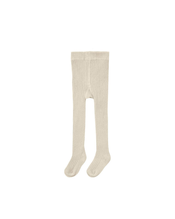 Rylee and Cru Rib Knit Tights Natural - Flying Ryno